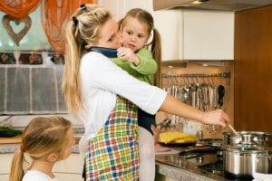 Pensions for stay at home parents